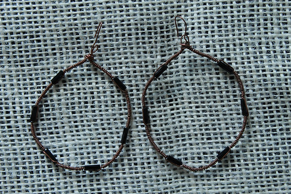 Rebe's Wire Hoops