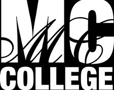 Marvel College black logo.png