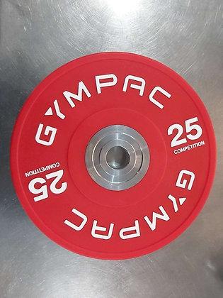 25kg bumper plates