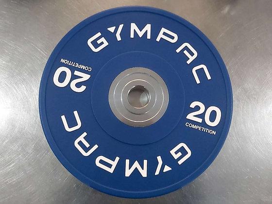 20kg bumper plates