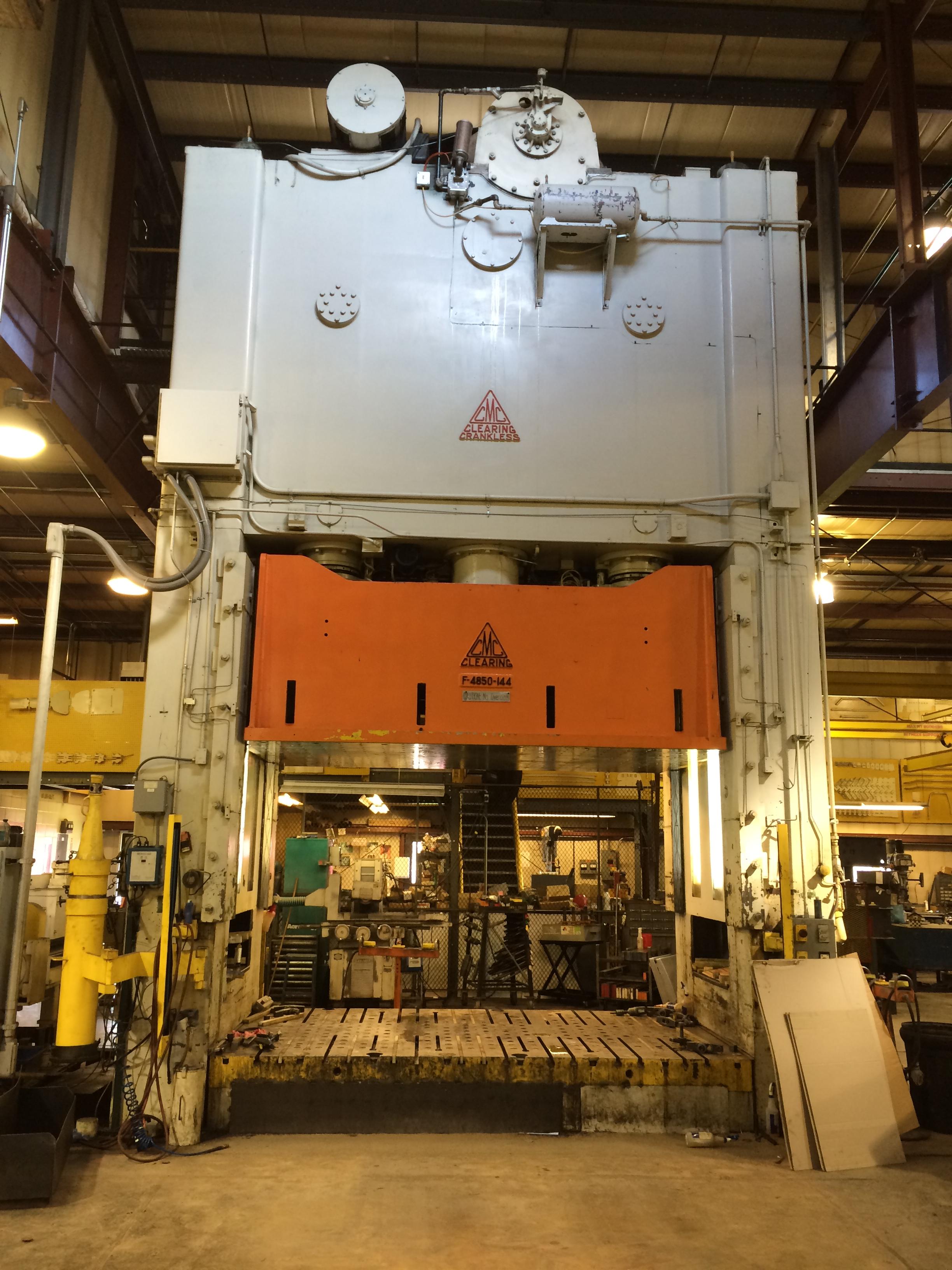 850-Ton USI Clearing