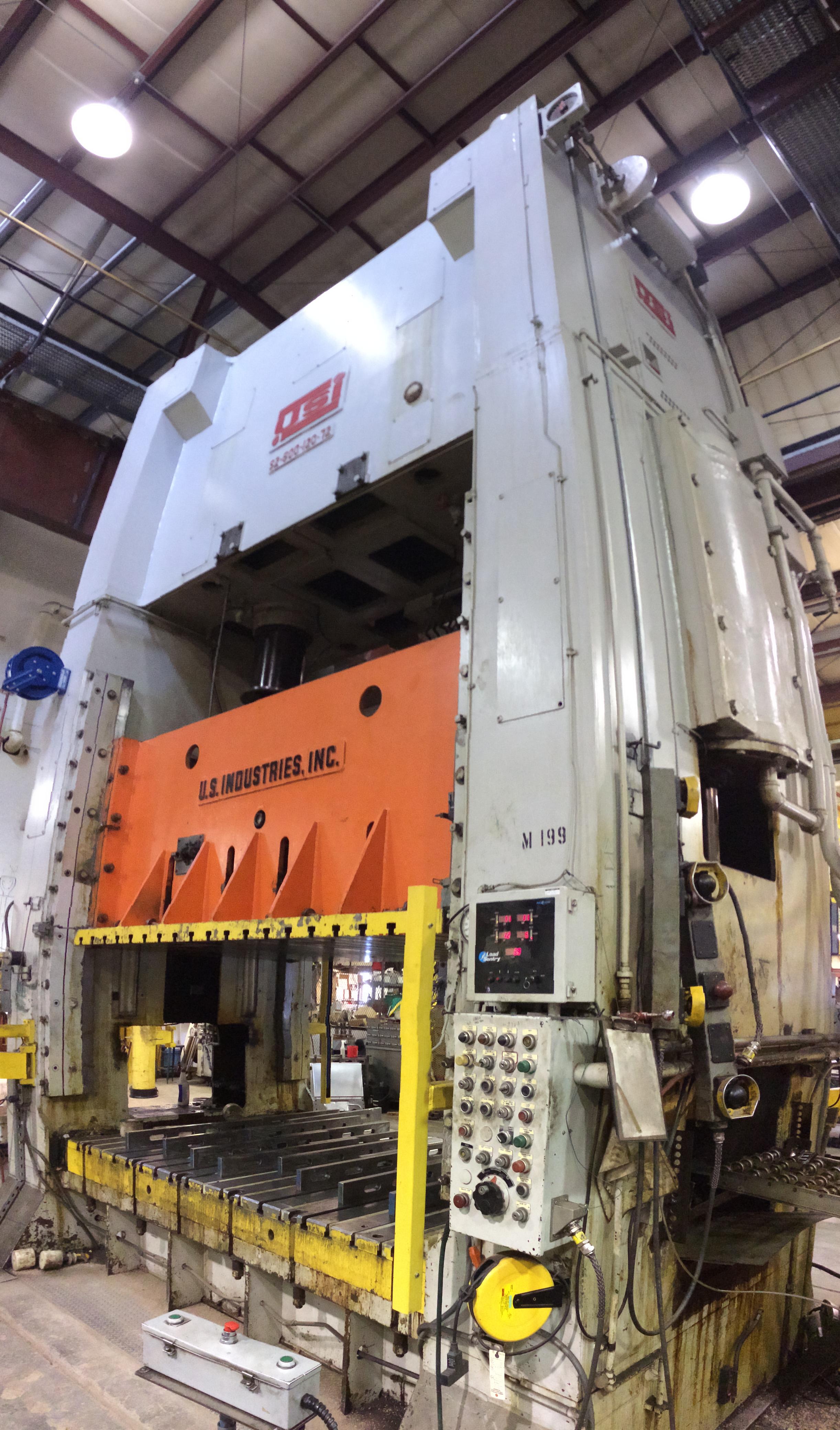 600-Ton USI Clearing with Air Cushio