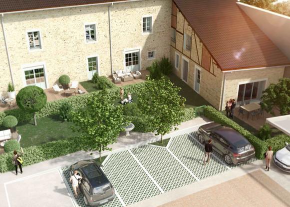 Rénovation logements et commerces_Archi