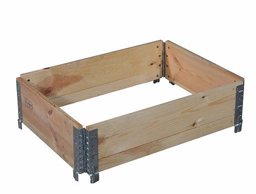 Réhausses bois et couvercles - 4 ou 6 charnières