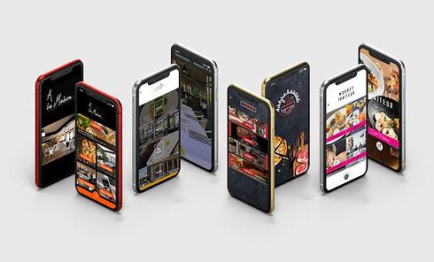 ANURA_Application mobile vente a emporte