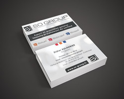 Cartes de visite So Group