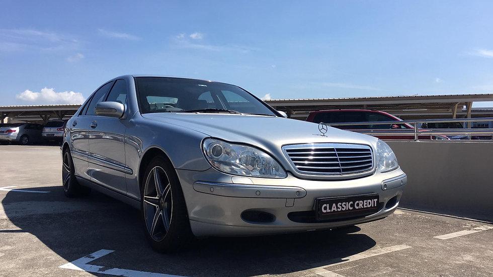 Mercedes-Benz S-Class S280 (COE till 03/2030)