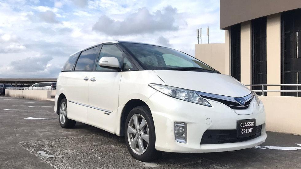 Toyota Estima Hybrid 2.4A X Moonroof (New 10-yr COE)