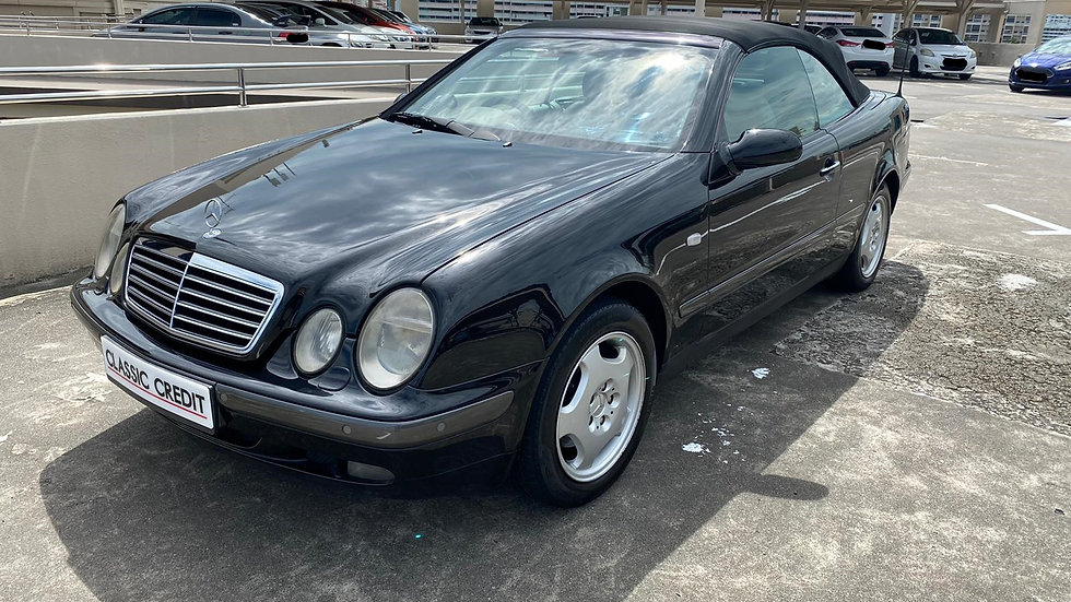 Mercedes-Benz CLK-Class CLK230 Cabriolet (COE till 09/2028)