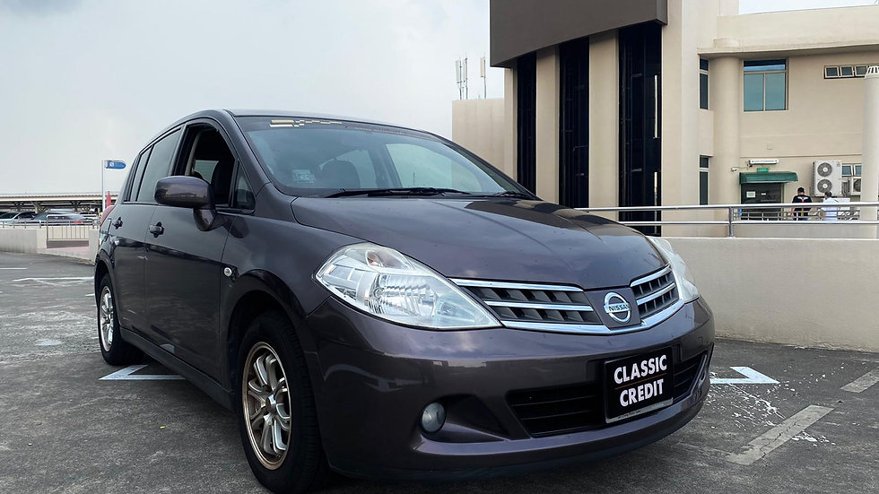 NISSAN LATIO SPORT BASE 1.5L AT ABS D/AB 2WD 5D