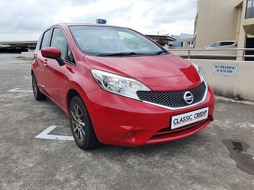 NISSAN NOTE 1.2 CVT ABS D/AIRBAG 2WD 5DR