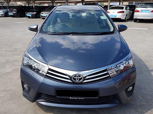 Toyota Altis Facelift
