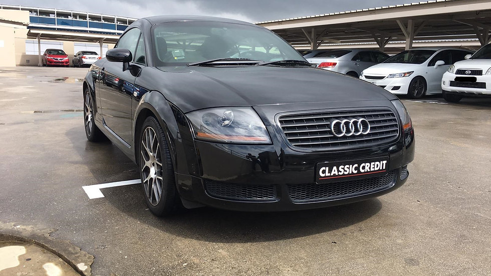 Audi TT Coupe 1.8T (New 10-yr COE)