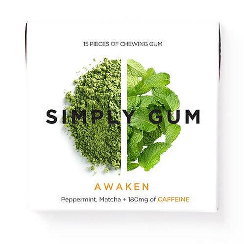 Awaken - Simply Gum - All Natural Chewing Gum