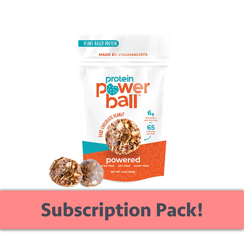SUBSCRIPTION - Monthly - Protein Powerball (Pack of 4)