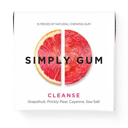 Cleanse - Simply Gum - All Natural Chewing Gum