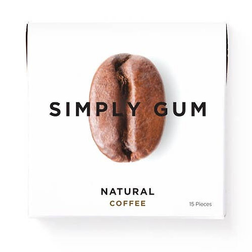 Coffee - Simply Gum - All Natural Chewing Gum