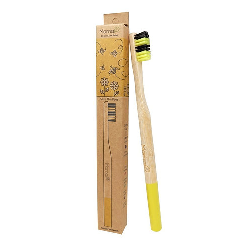 Save the Bees - Bamboo Toothbrush