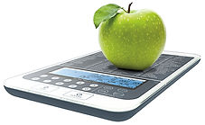 NutraTrack Mini, Nutrition Scale, kitchen scale, food scale, baker scale, calorie Scale, Nutritional Scale, Diet scale