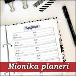 mionka personalizovani planeri rokovnici agende planer