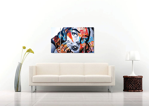 Pop art devojka