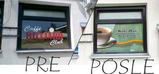 reklame na prozorima