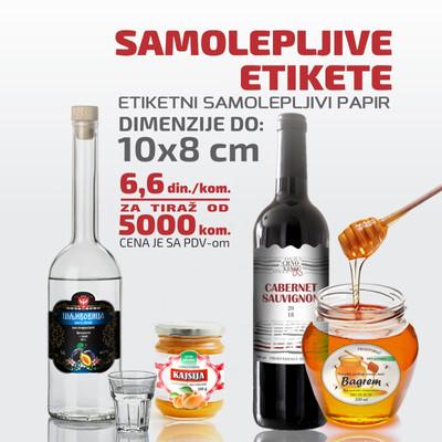 Etikete za rakiju vino med dzem