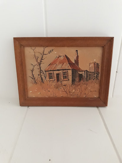 Painting by Kay Walsh Framed