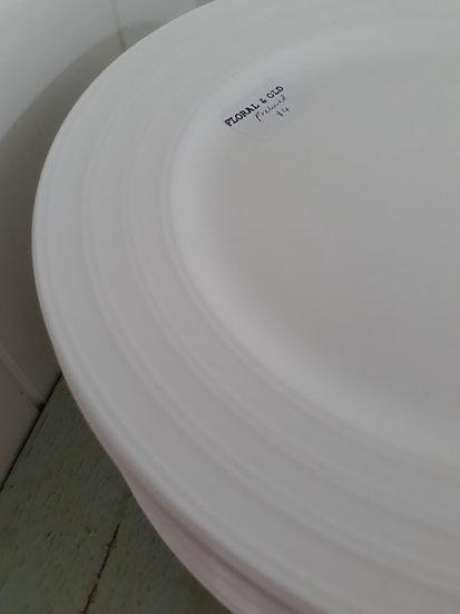 Preloved Haven white dinner plates
