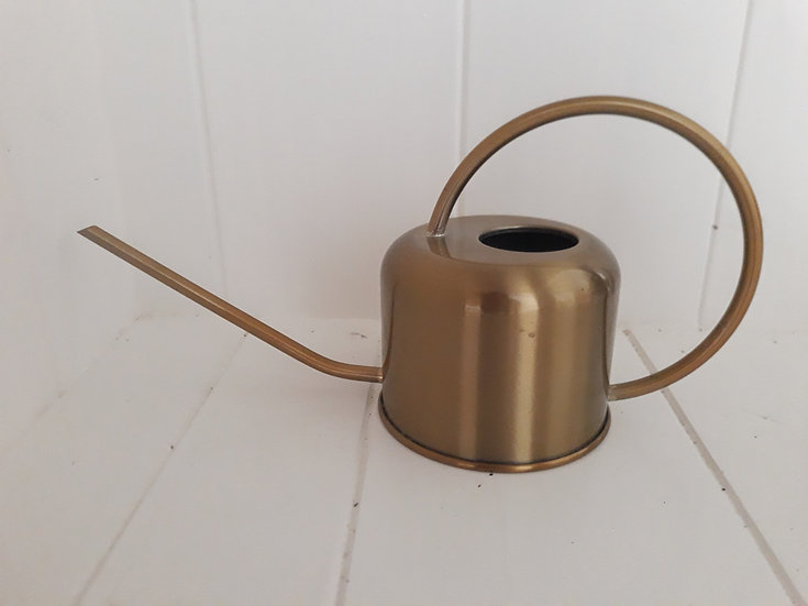 Preloved Brass Watering Can