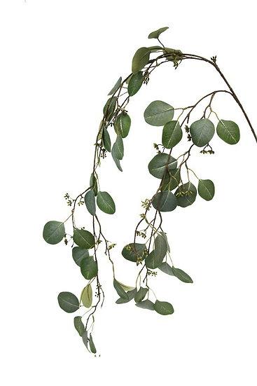 Hanging Eucalyptus Branch Faux Foliage Artificial Foliage
