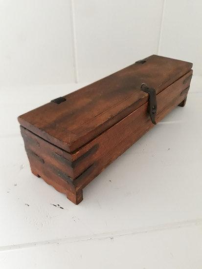 Timber trinket box