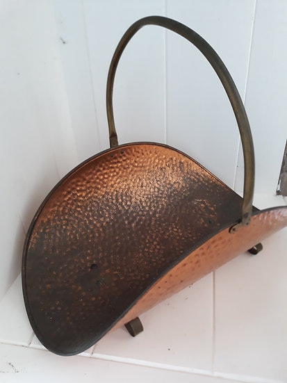 Copper and Brass Vintage Rack