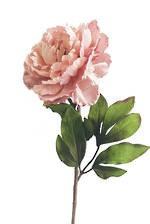 Peony Light Pink Flower Faux Flowers Artificial Flower Silk Flower