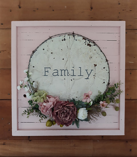 wreath art, rustic art, floral & old, floral and old, floral&old, vintage, wreath tauranga katikati, wedding, phrases art