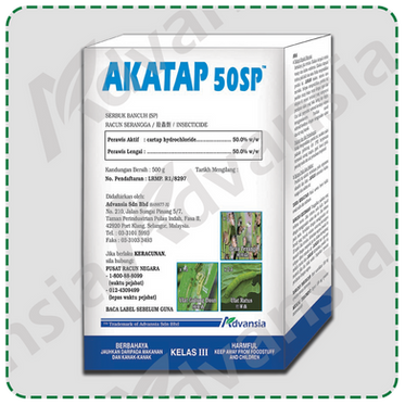 Insecticide AKATAP 50SP