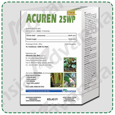 Fungicides ACUREN 25WP