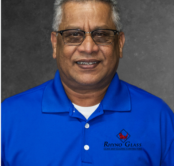 Raymond Singh Named Senior Project Manager at Rhyno Glass