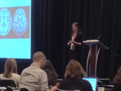 Christina speaking at PNIRS, 2014