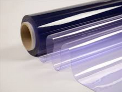Transparente Felxible PVC de 30mm