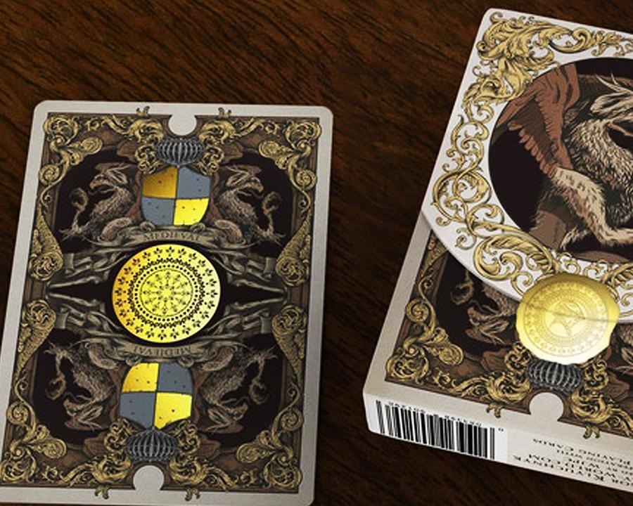 Gold Foil Deallez Fulfillment Print Euro