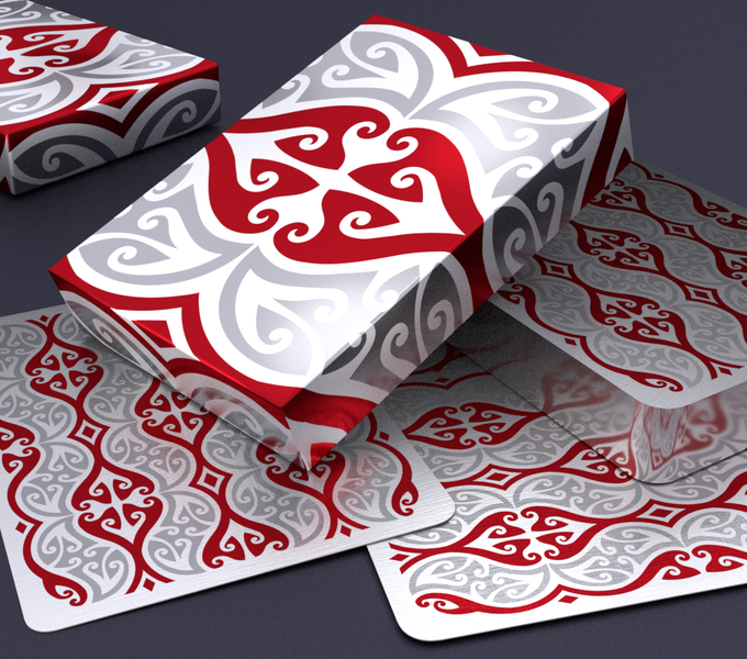 Hello TIKI V3 Playing Cards