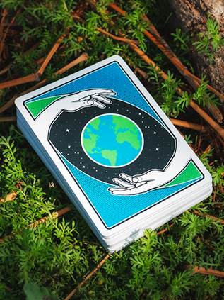 Heal The World 1 Playing Cards Deallez E