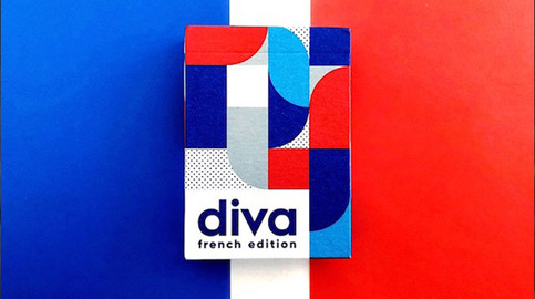 Diva Playing Cards, French Edition