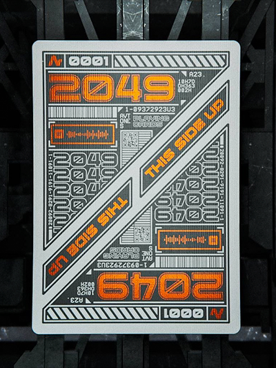2049 Playing Cards 1 52 Wonders Deallez