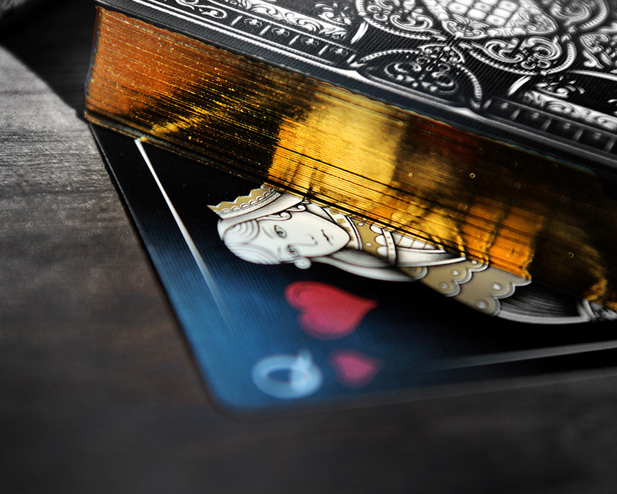 Gold Gilded Edges Deallez Fulfillment Pr