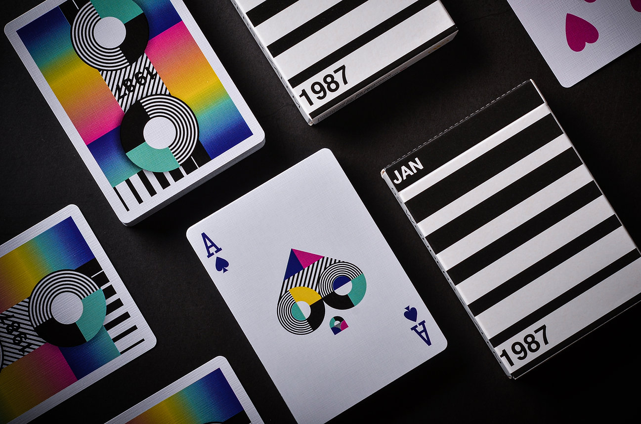 1987 Playing Cards JAN Edition 52 Wonder