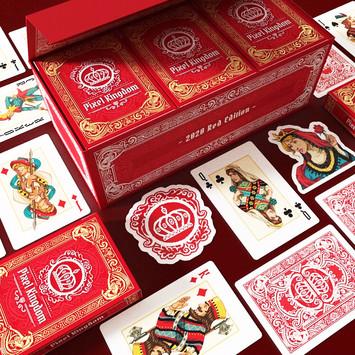 Pixel Kingdom Playing Cards