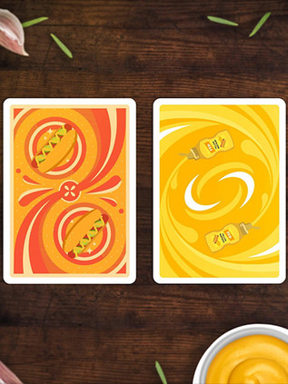 Hot Dog Mustard x Playing Cards 52 Wonders Deallez Logistic Fulfillment Center Europe.jpg