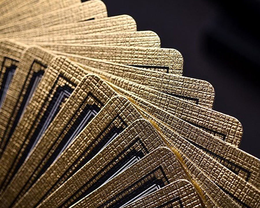Gold Foil Cards Deallez Fulfillment Prin